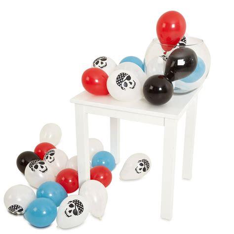 Balon Metalic 1 Pack pack of 28 pirate mini balloons by bubblegum balloons