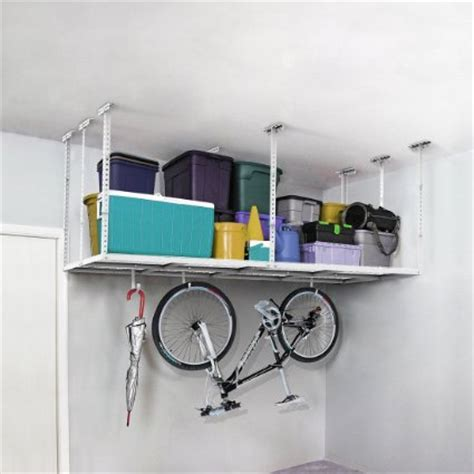 Garage Ceiling Mounted Storage by Clutter Be 50 Ways To Organize Purge And Declutter Your Home