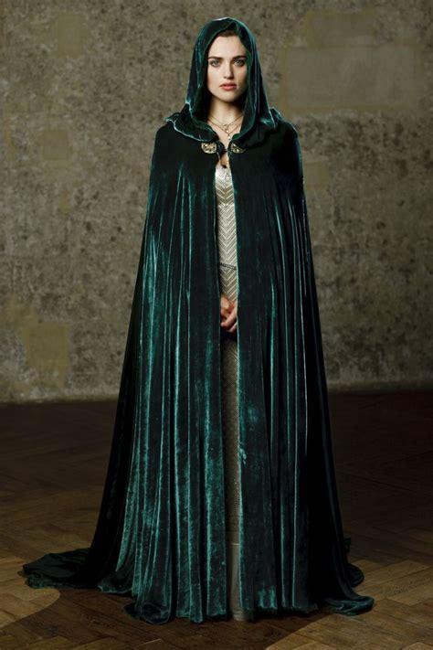 Adliya Dress Plain Series Green morgana s green cloak merlin green