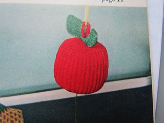 pattern for cord holder ravelry apple cord holder pattern by american thread company