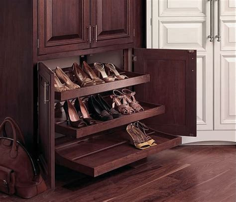 stylish shoe storage wooden shoe rack pull out design ideas