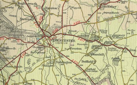maps of cirencester map