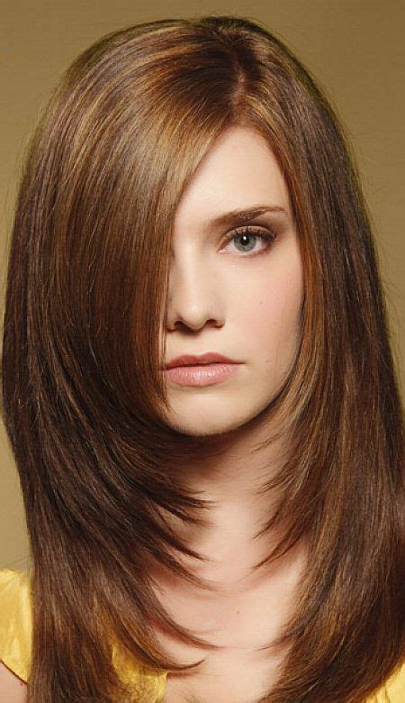 Lång Frisyr by Images Of Four Equal Layers Haircut 10 Brightest Medium