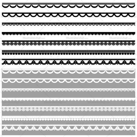 lace pattern ai free lace pattern brush library illustrator stuff