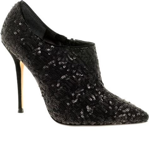 black sequin shoes dune bagpipes sequin shoe boots in black lyst