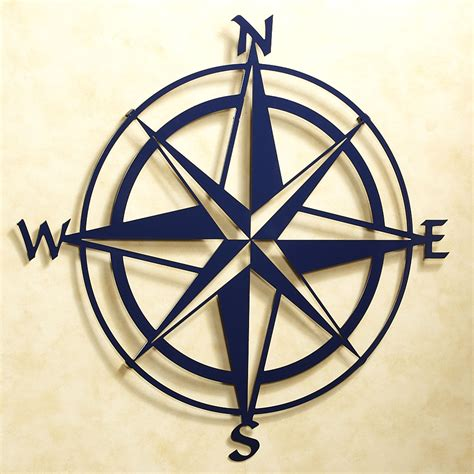 compass tattoo art compass rose indoor outdoor metal wall art metal walls