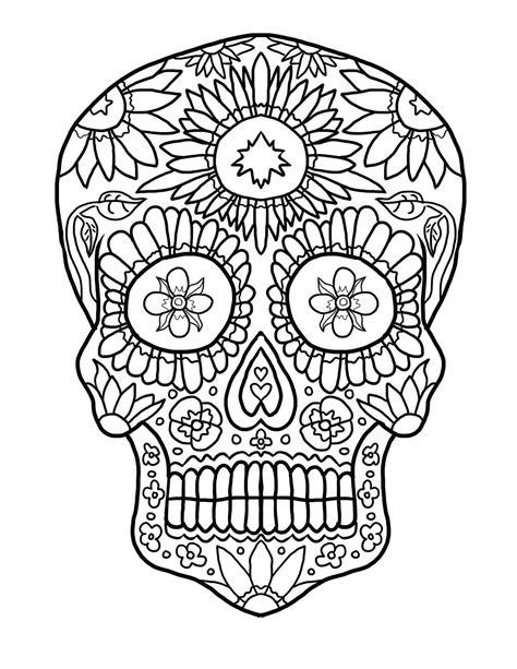 imagenes de calaveras y catrinas para colorear calaveras mexicanas para colorear dibujos de