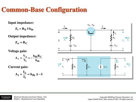 transistor lifier common base ppt chapter 5 bjt ac analysis powerpoint presentation id 5588788