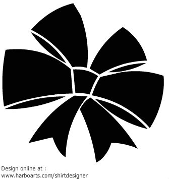black bow clip art vector graphics 6791 black bow eps bow vector cliparts co