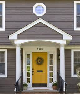 Yellow Front Door Paint Colors A Fresh Start With Fresh Paint Tuvalu Home