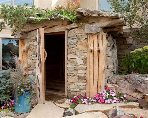 outdoor saunas gallery hgtv