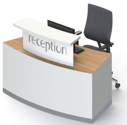 Compact Reception Desk Reception Desk Classic B1 Compact No Plinth Reality