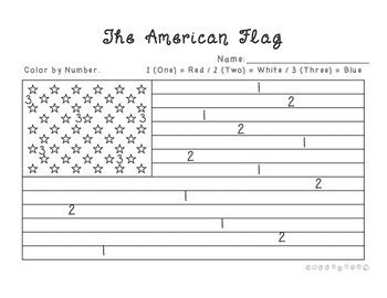 american flag to color american flag color by number by giggleland teachers pay