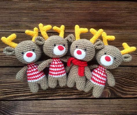amigurumi pattern christmas christmas reindeer amigurumi pattern amigurumi