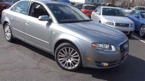 2006 Audi A4 2006 audi a4 3 2 quattro b7 automotive review