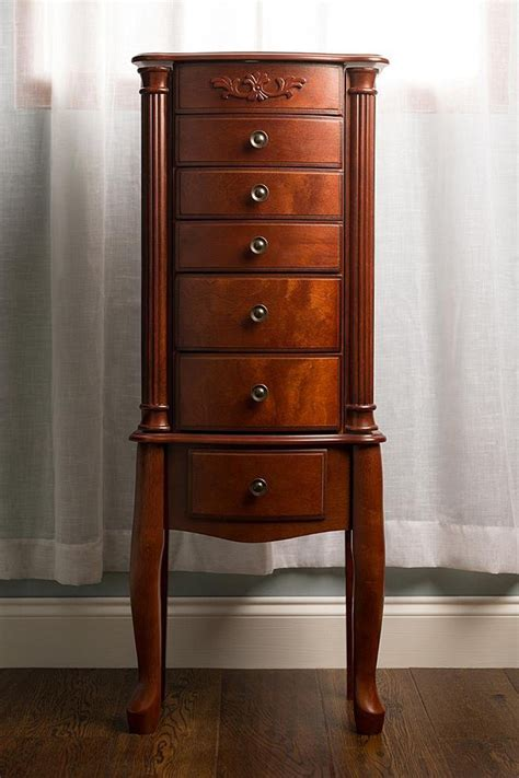 jewlery armoir morgan jewelry armoire cherry hives and honey