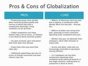 Globalisation Pro Contra Essay by Globalization Pros And Cons Essay Pros And Cons Of Globalization Daniel Benson Hubpages