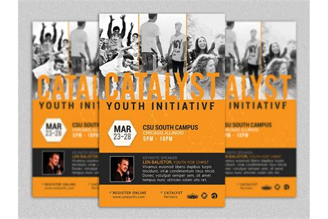 Youth Summit Flyer Template Youth Flyer Templates