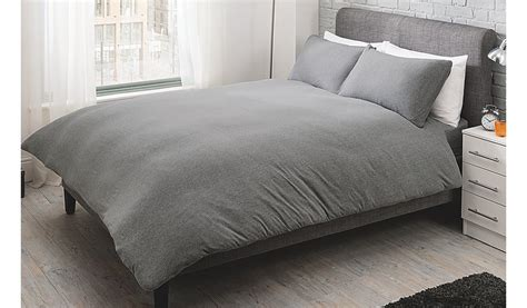jersey comforter set george home grey jersey bed duvet set home garden