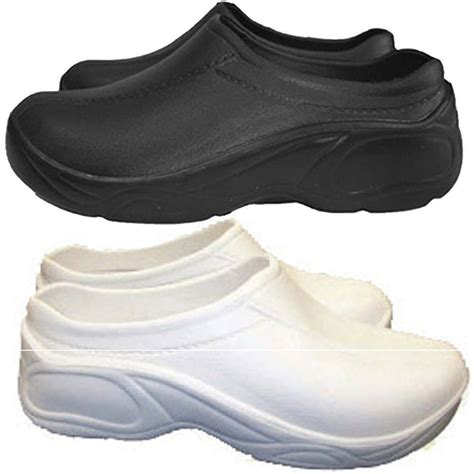 Most Comfortable Athletic Shoes For Nurses by Nursing Womens Comfortable Strapless Lightweight Slip Resistant Clogs Shoes Ebay