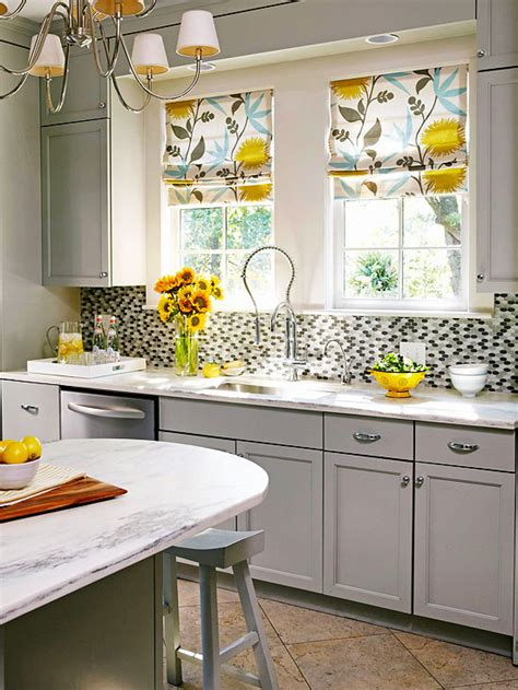 kitchen window valances ideas drapes over woven roman shades for the home pinterest