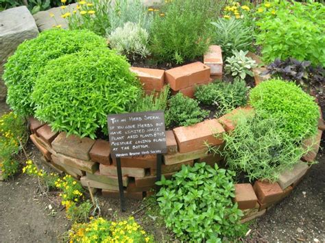 How To Make A Herb Planter by 30 Herb Garden Ideas To Spice Up Your Garden