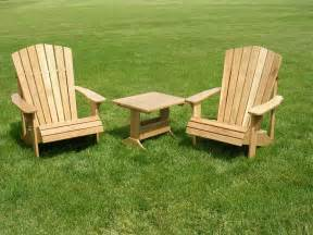 Yard Furniture Adirondack Chair