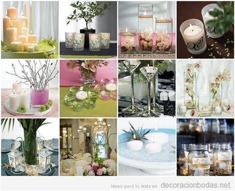 adornos de mesa para bodas con velas centros de mesa decorados con velas decoraci 243 n bodas
