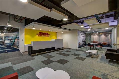 bureau dhl dhls bogot 225 offices reception area design