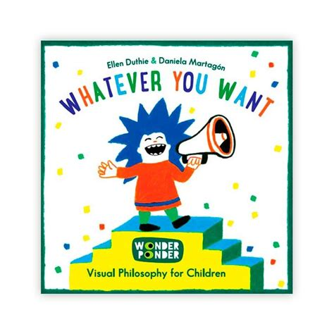 libro philosophy for young children whatever you want wonder ponder libros dideco