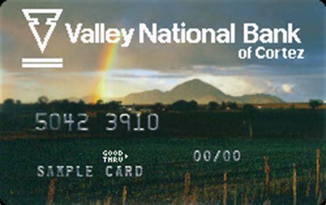 Valley National Bank Gift Card - colorado