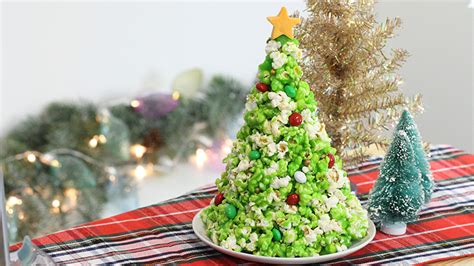 popcorn christmas tree yummy magazine by eatout