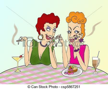 office gossip auf deutsch to ladies gossiping in a cafe clipart search
