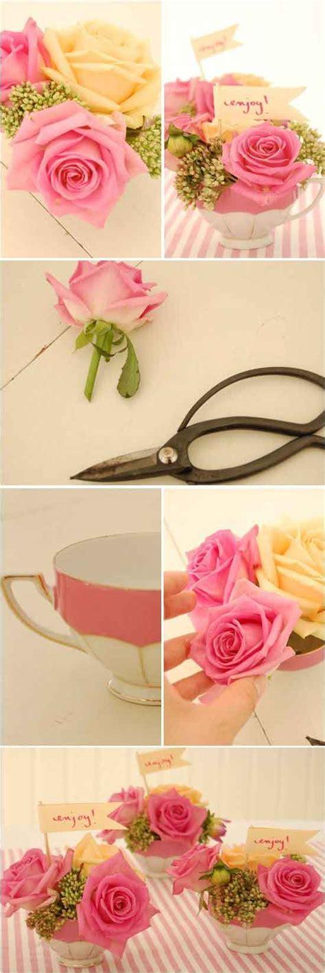 floreros de unicel como hacer arreglos de flores para bodas diy actitudfem