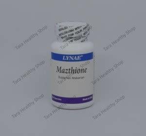 Kapsul Suplemen Pemutih mazthione 60 kapsul suplemen pencerah pemutih dengan antioksidan tara healthy shop