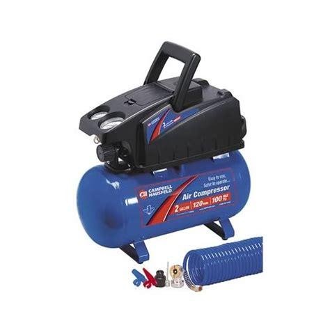 cbell hausfeld air compressor 2 gallon 100 psi maximum 120 v ac ea fp2048 ebay