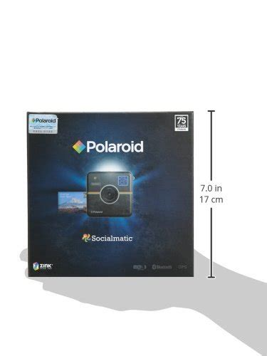 polaroid socialmatic instagram polaroid socialmatic instant digital black in