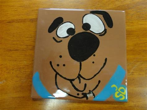 Kaos Scooby Doo Paint scooby doo in the house artwork for children