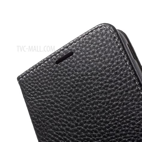 Simple Casing Samsung Galaxy J5 litchi texture wallet stand leather phone for samsung