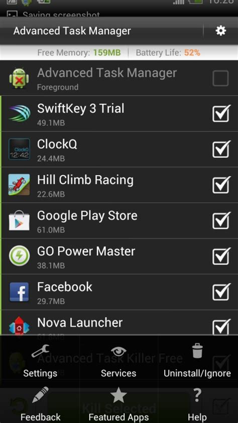 Android Kill App by Android App Killer