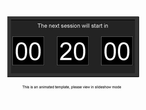 Free Powerpoint Countdown Timer Template Countdown Timer For Powerpoint Free