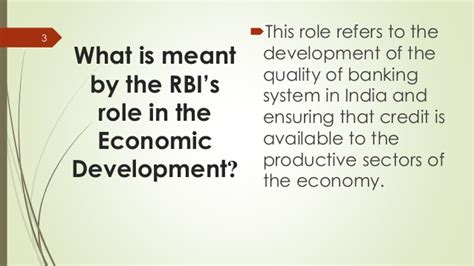 what is development bank of reserve bank of india in economic development
