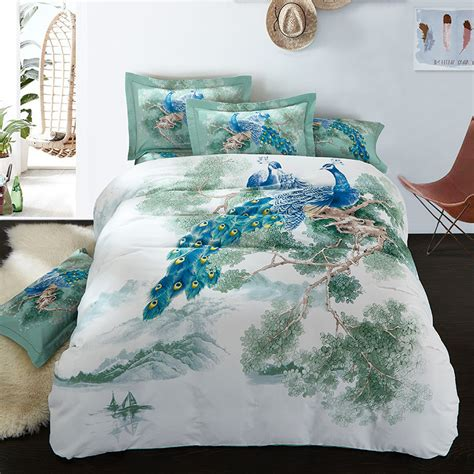 Peacock Bedroom Bedding Bed Linen Outstanding Peacock Bed Linen Peacock Bed