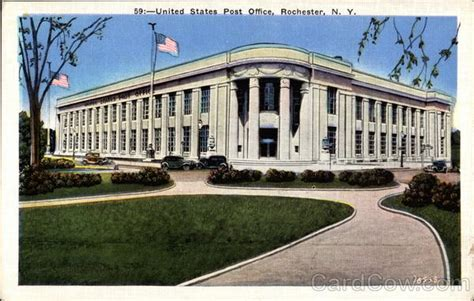 Rochester Post Office by United States Post Office Rochester Ny