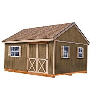 diy shed kit home depot best barns new castle 16 ft x 12 ft wood storage shed