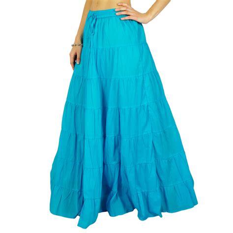 skirt cotton fashion hippie clothing skirt maxi