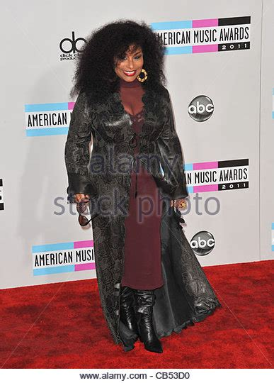 Nya Jade Live Added To Vh1 Soul by Chaka Khan Stock Photos Chaka Khan Stock Images Alamy