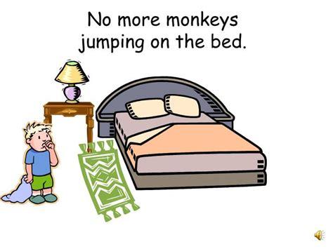 no monkeys jumping on the bed ppt five little monkeys powerpoint presentation id 5923390