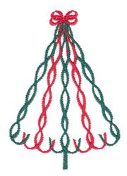 maypole christmas tree embroidery designs machine