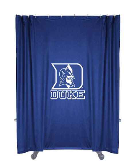 syracuse curtains ncaa duke blue devils shower curtain basketball bathtub